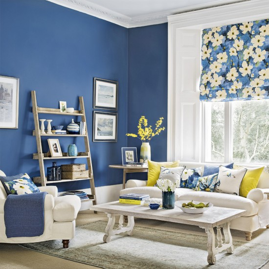 20 Charming Blue And Yellow Living Room Design Ideas: Maneiras De Usar O Azul Na Decoração
